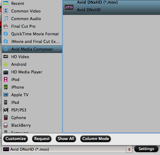 avid dnxhd profile How do I get Avid Media Composer work with Canons G1X H.264 .mov files