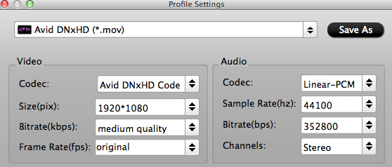 avid dnxhd settings How do I get Avid Media Composer work with Canons G1X H.264 .mov files