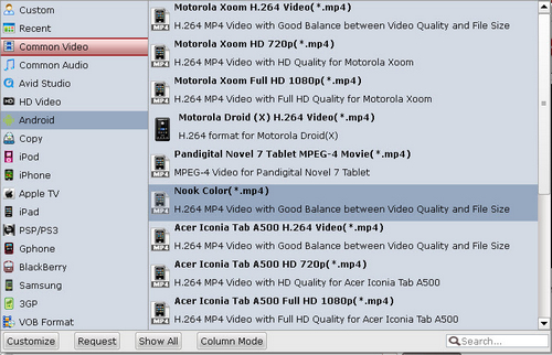 1080p MKV to Transformer Prime Guide-How to Convert 1080p
