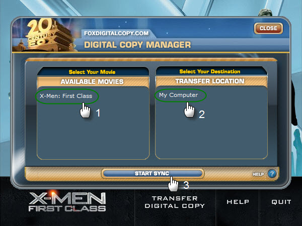 How to copy/transfer/download Blu-ray/DVD Digital Copy to computer?