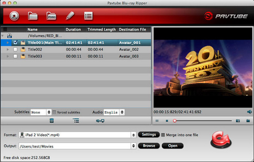Blu-ray ISO to Transformer Prime Converter on Mac-How to