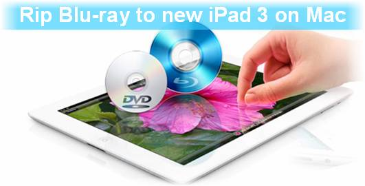blu-ray to the new ipad 3 on mac