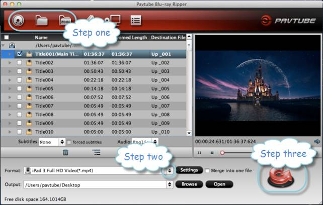 mac blu-ray to ipad 3 converter
