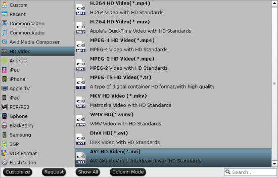 format Convert Sony Handycam AVCHD 1080p MTS to MPEG 2, AVI for Pinnacle Studio editing