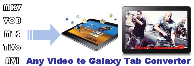 video playback on samsung galaxy tab