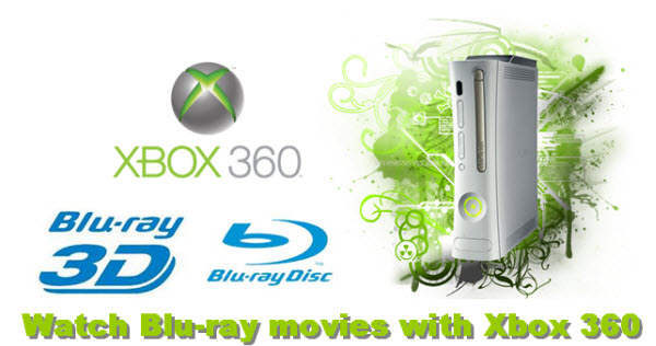 blu-ray to xbox 360