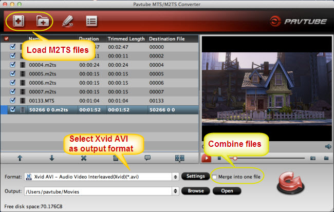 mac m2ts to xvid converter