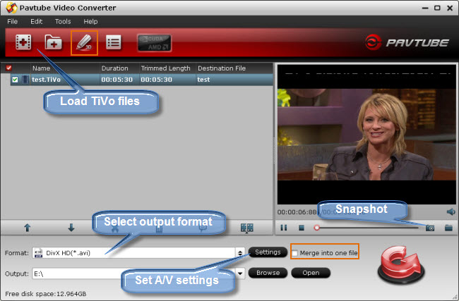 how to delete recorded shows off tivo