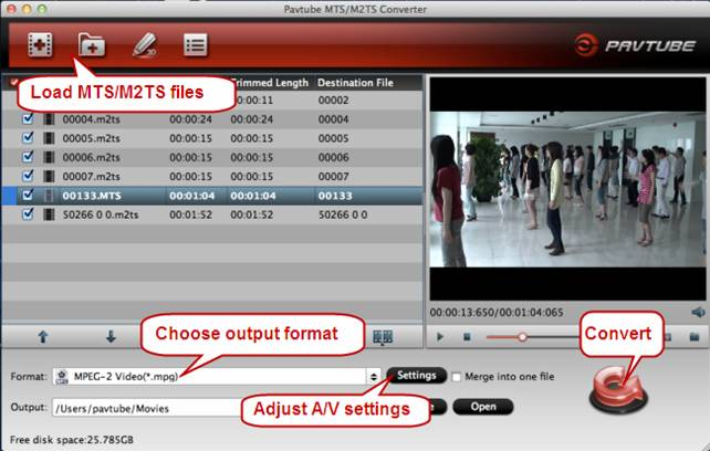 convert avchd mts to idvd