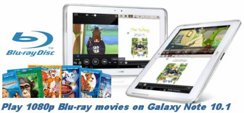 blu-ray t galaxy note 10.1 converter