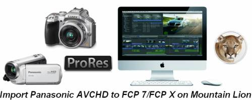 transferring Panasonic MTS video to FCP