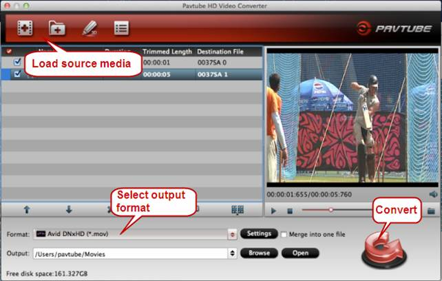 Import media to Avid - Managing your videos, projects, and media