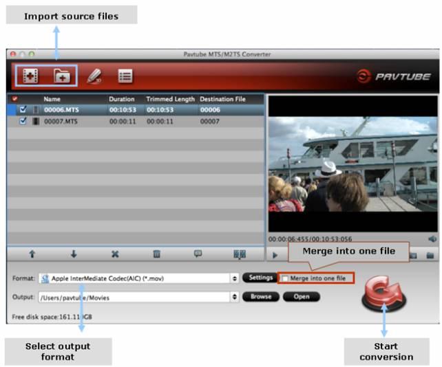 2 clip image006 Canon Legria Video Converter Transcode Canon Legria AVCHD footage on Mac