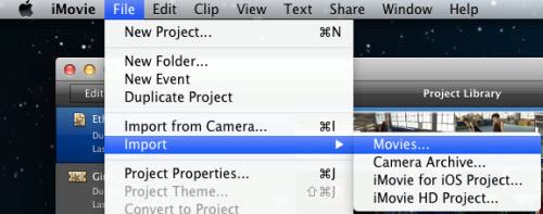 how to import avchd into final cut