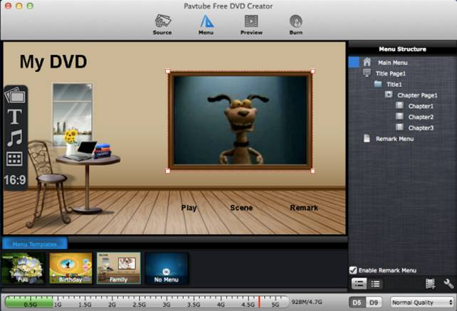 Create dvds from avi mkv mp4 files on mac totally free for Dvd menu templates after effects