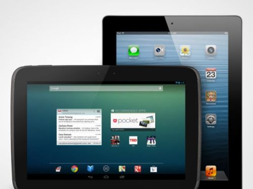 iPad 4 vs Google Nexus 10 - Spec Sheets Look Impressive