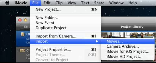 how to change video to 1080p imovie
