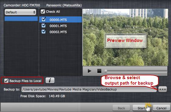 How to manage/backup videos from camcorder/camera with