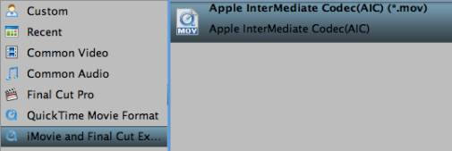 3 clip image011 How to Convert M2TS/MTS/M2T/TS to iMovie on Mac OS X 10.9 Mavericks