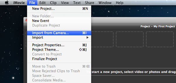 How To Import Video Files Or Projects To Imovie 8 9 11 On Mac border=