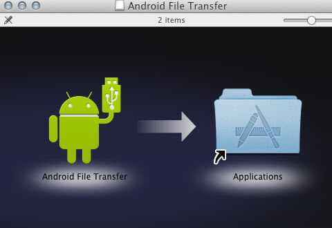 How to transfer media files to Google Nexus 4 from Mac OS X