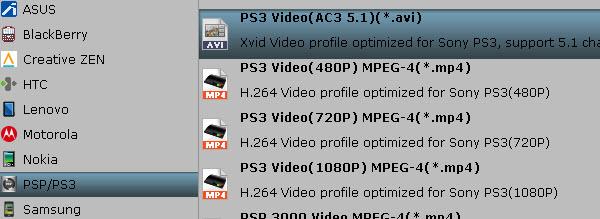 PS3 preset