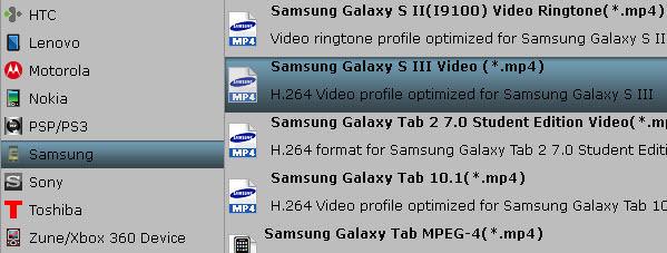 Blu-ray to Galaxy S4