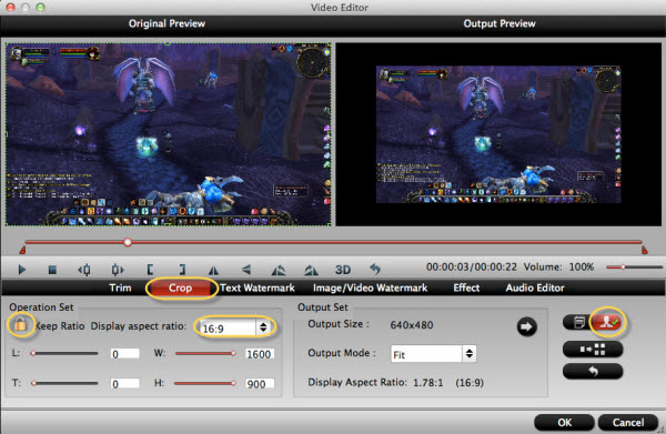 Import Fraps Videos to iMovie or Upload Fraps Game Videos to YouTube
