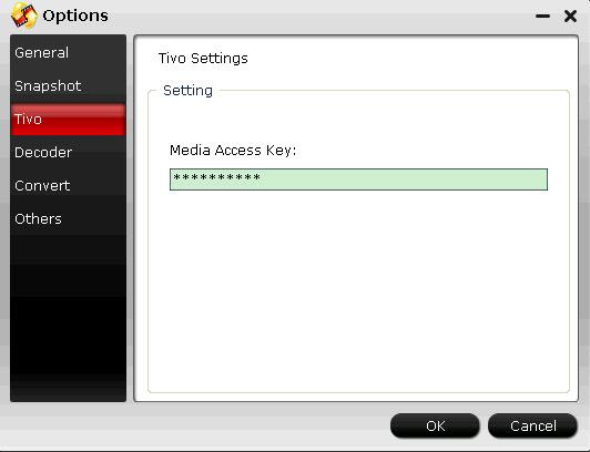 Put/Play TiVo HD Recordings onto TV through Toshiba DVD Player