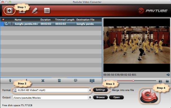 Compress/Sync MKV movies to iTunes library with MKV to