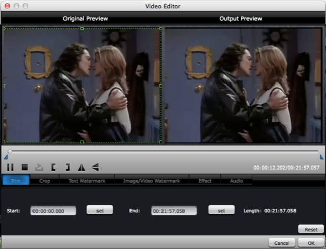 How to burn Sony XAVC Video to DVD on Mac?