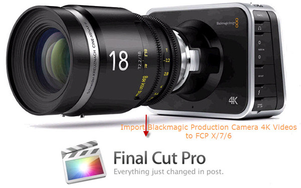 import 4k video to fcp
