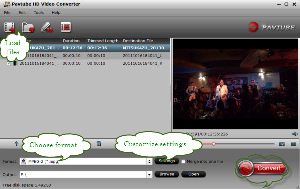 transcode xdcam ex mp4 to premiere converter