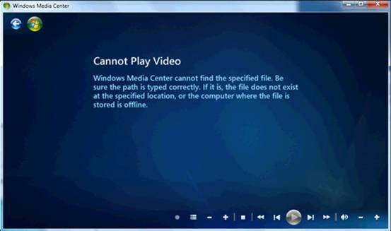 play blu-ray movie in windows media center