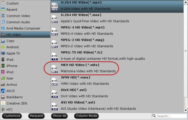 repack tivo shows to mpeg