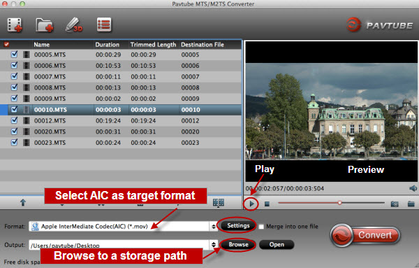 the best supported format for imovie and fce