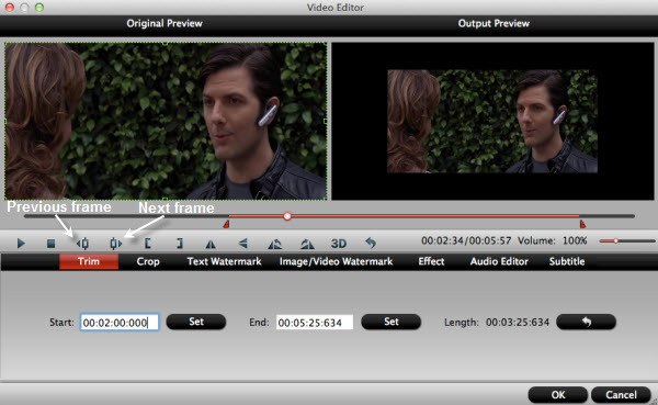 create QuickTime compatible AIC files for iMovie