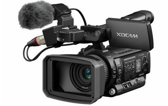 Sony XDCAM camcorder