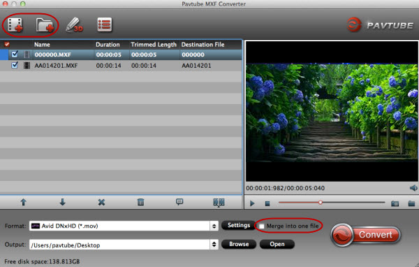 mainscreen How to Join MXF/Edit MXF with VirtualDub?