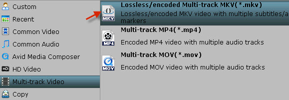 Play ripped Blu-ray MKV files in MPlayer with wanted audio and