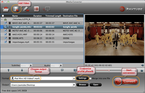move video clips to ipad