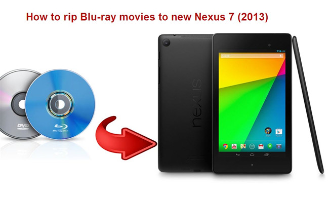 convert blu ray to nexus 7 2013