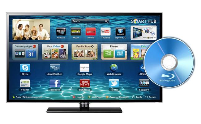 blu ray to samsung smart tv