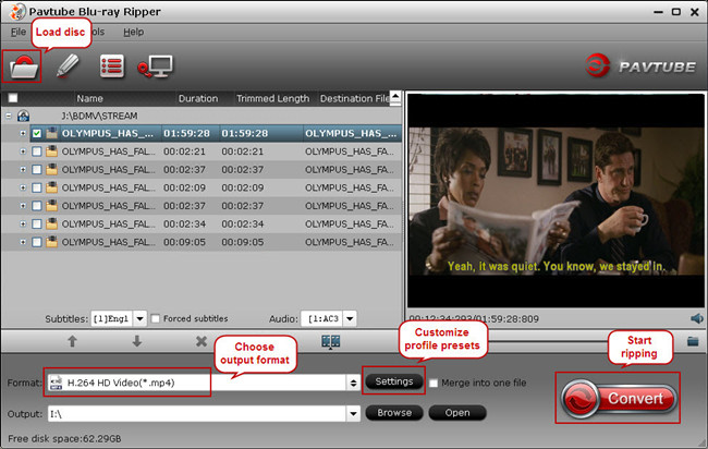bluray to samsung smart tv converter