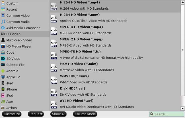 samsung smart tv profile