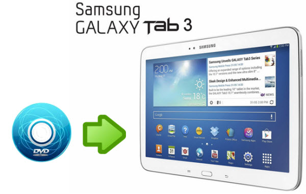 rip dvd to galaxy tab 3