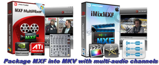 mxf to mkv with multiple=