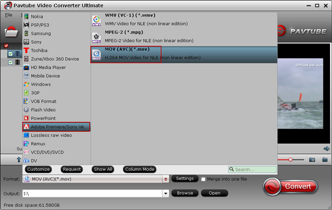 lightroom 5 video format