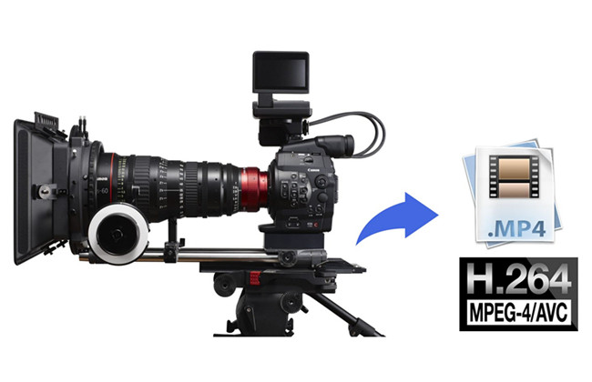 convert c300 mxf to h.264 mp4