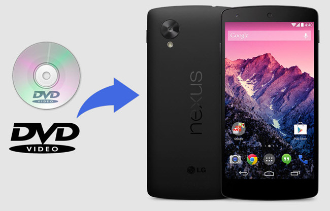 rip dvd to nexus 5